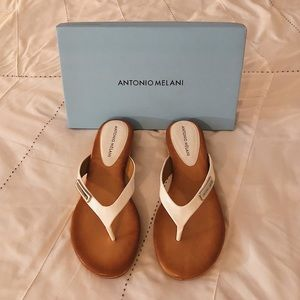 White ANTONIO MELANI Sandals